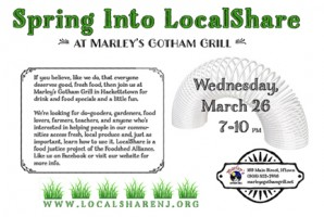 Spring into LocalShare, March 26, 7 p.m.