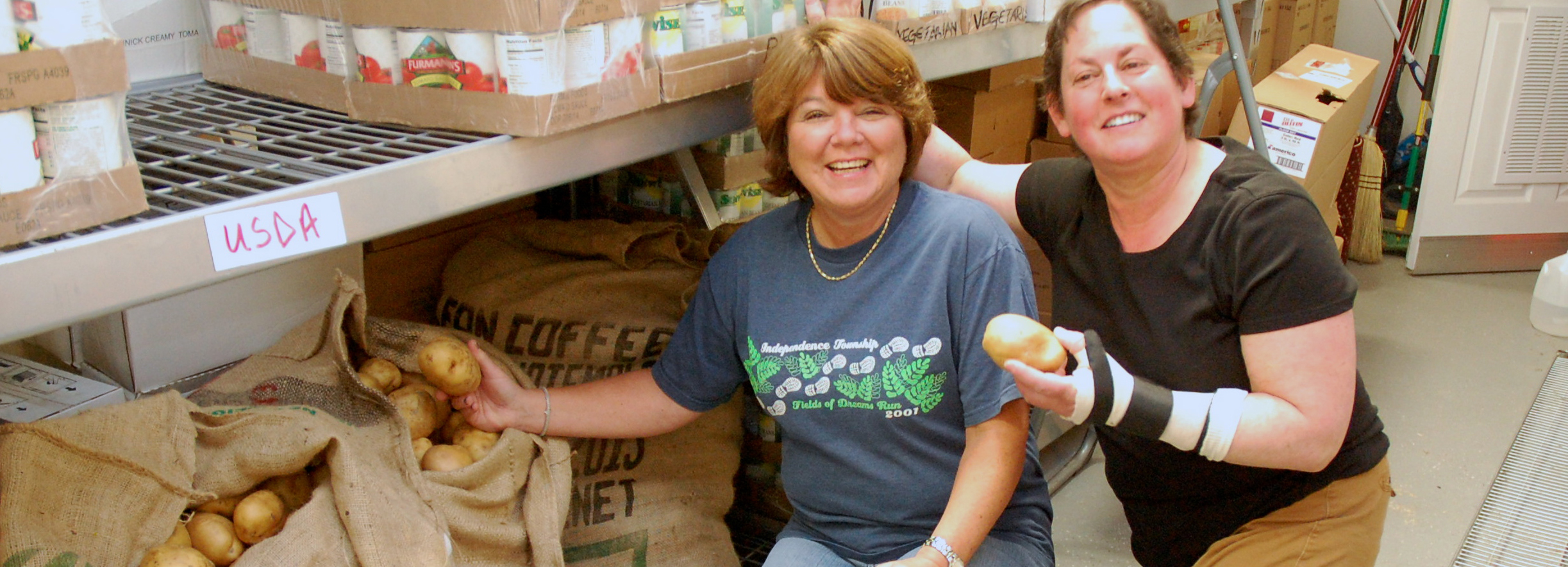 LocalShare Distributes 5,000 Pounds of Potatoes to Hungry Families